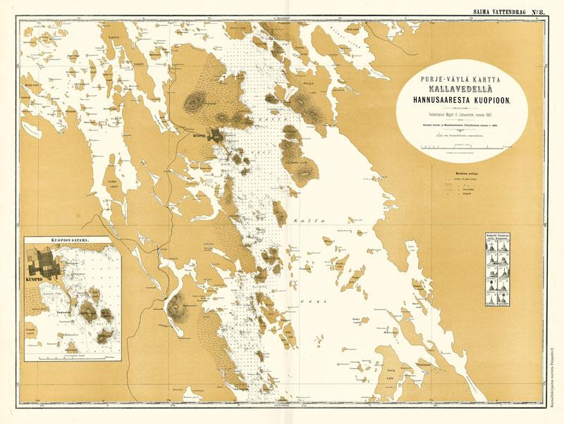 Kallavesi 1866 Palapelix Kotimainen Luotettava Verkkokauppa